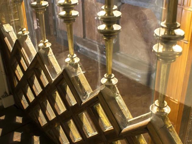 L'interior de la capella