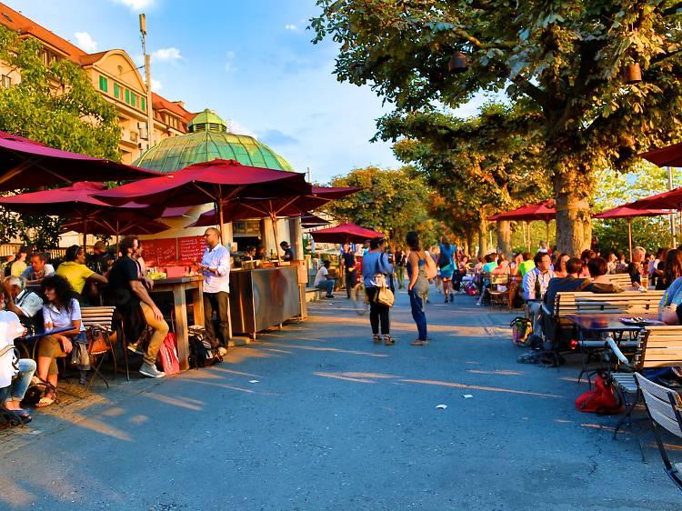 The best summer bars in Zurich