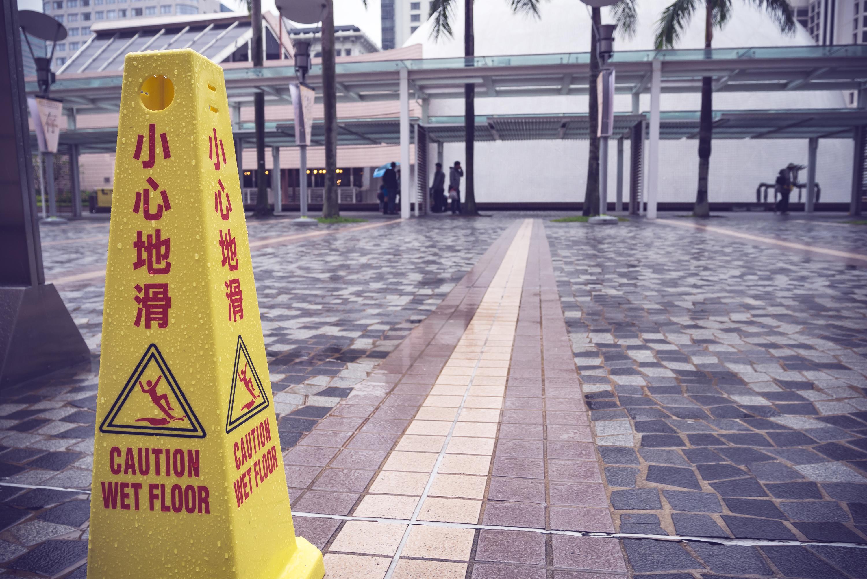 Slippery floors