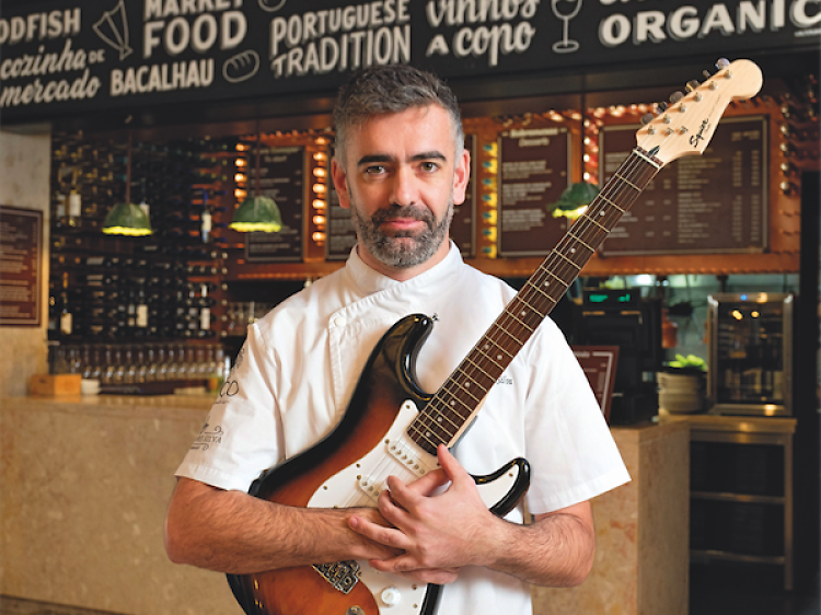 Chef Alexandre Silva Food Corner
