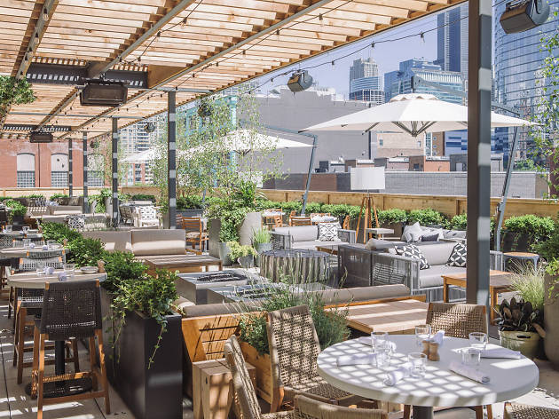 Aba, an enchanted rooftop restaurant, opens tonight in the West Loop