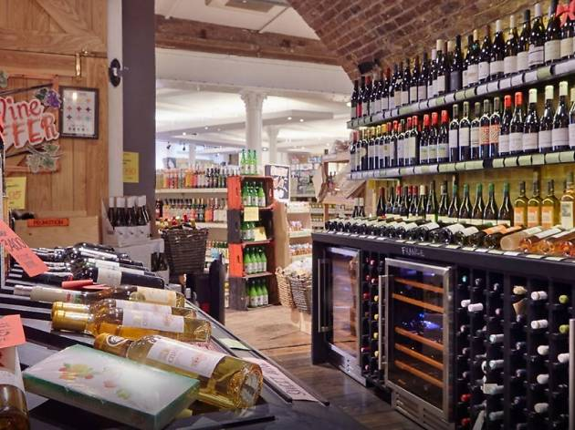 The Grocery wine vault