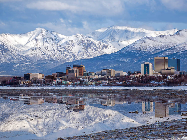 Best place to learn skijoring: Anchorage, AK