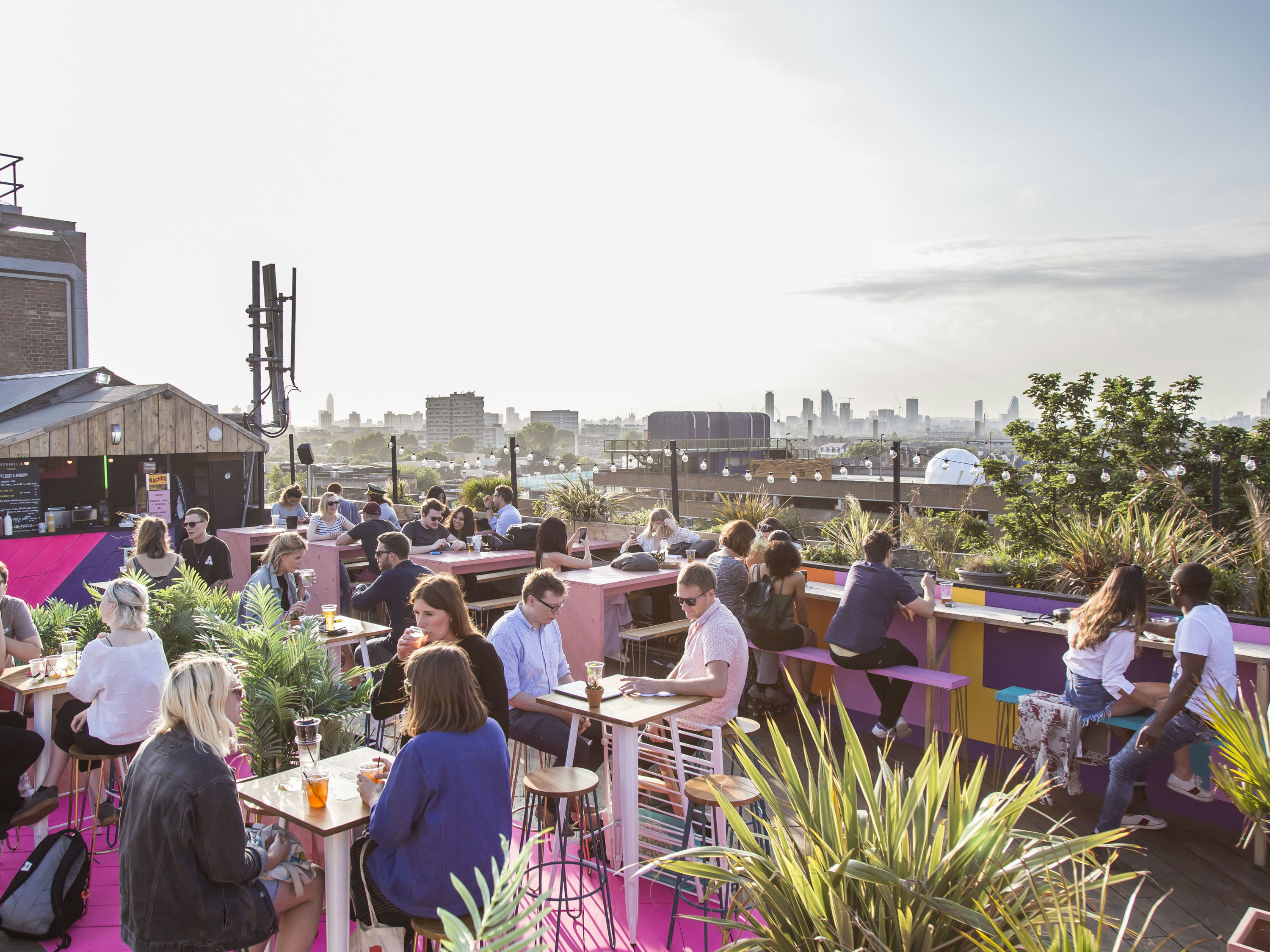 bussey rooftop bar