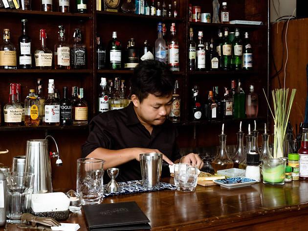 There's a new secret bar hidden inside a hip cafe in Sukhumvit