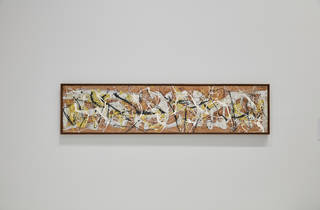 (Jackson Pollock, 'Number 7, 1950', 1950, Photograph: Tom Ross)