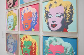 (Andy Warhol 'Marilyn Monroe' 1967, photograph: Tom Ross)