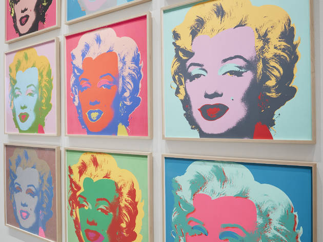 (Andy Warhol 'Marilyn Monroe' 1967, photograph: Tom Ross)