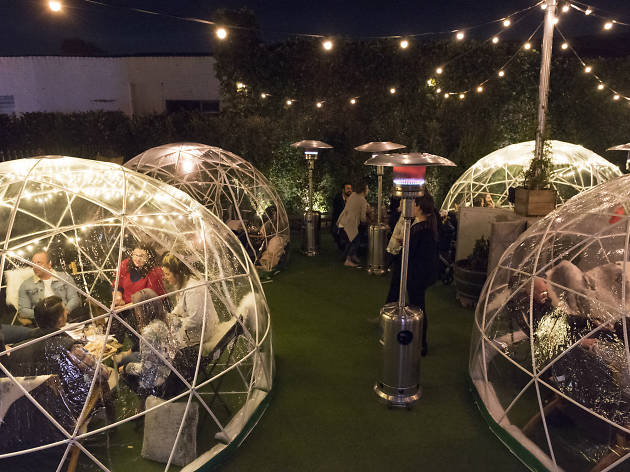Heated igloos are popping up at this Melbourne pub for winter