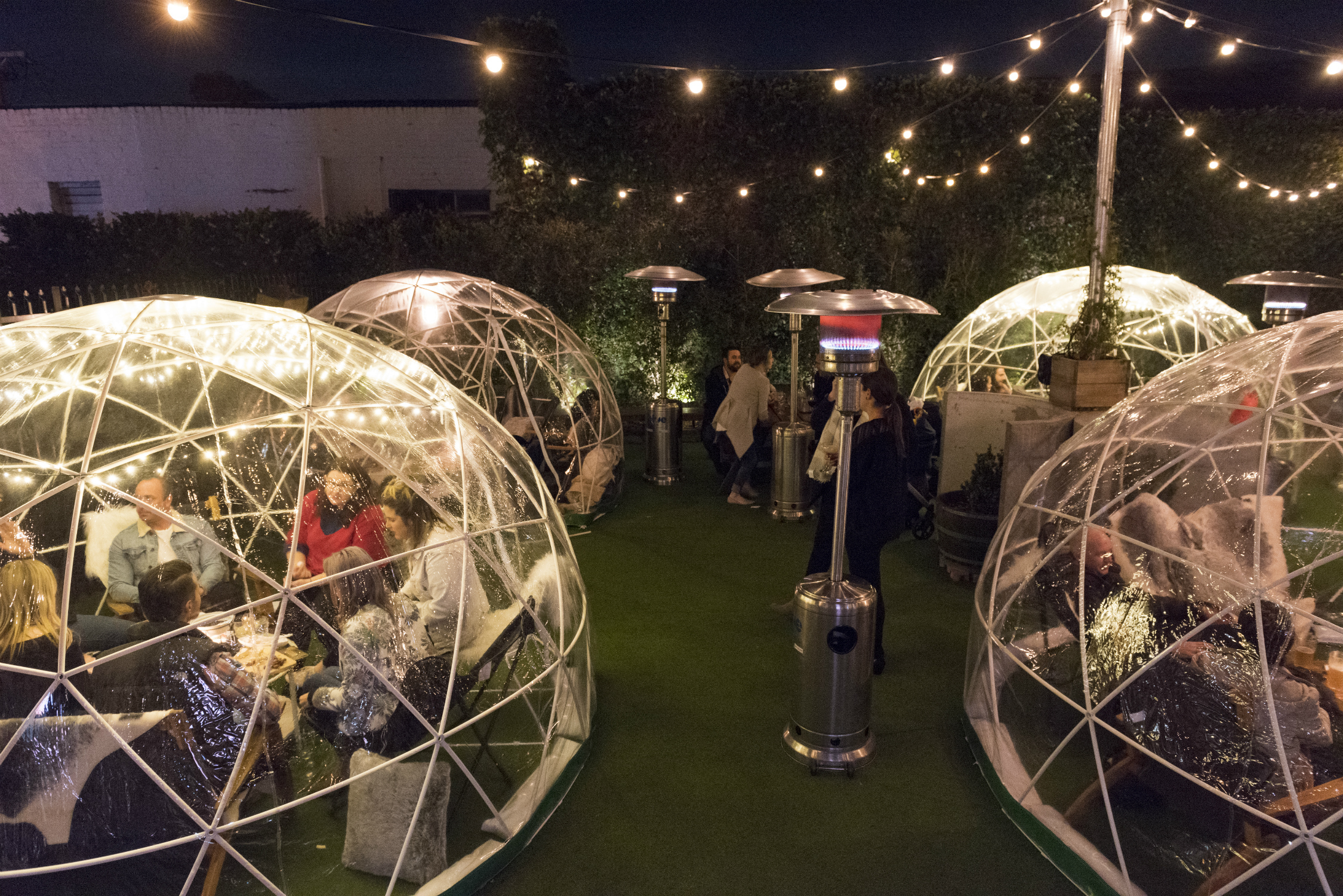 Cosy igloos are popping up at this Melbourne pub for winter