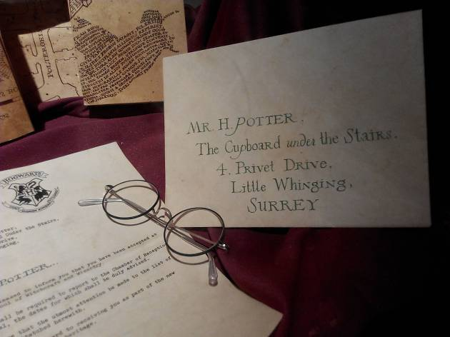 Harry Potter letter and glasses