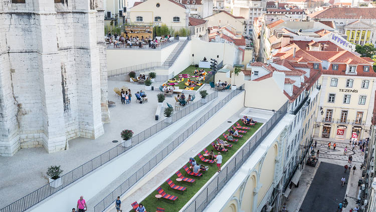 The best places to eat outdoors in Lisbon