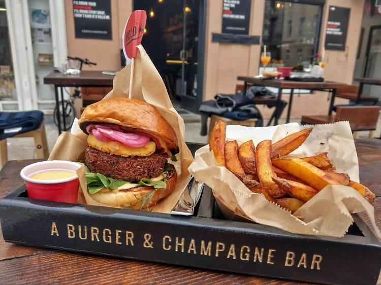 50 A Burger & Champagne Bar