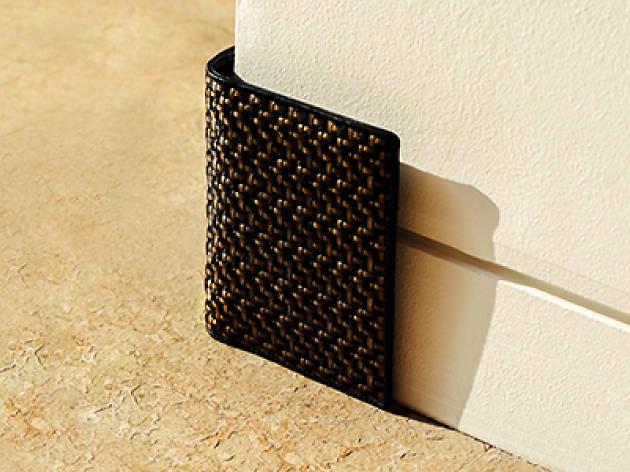 Tresse leather wallet