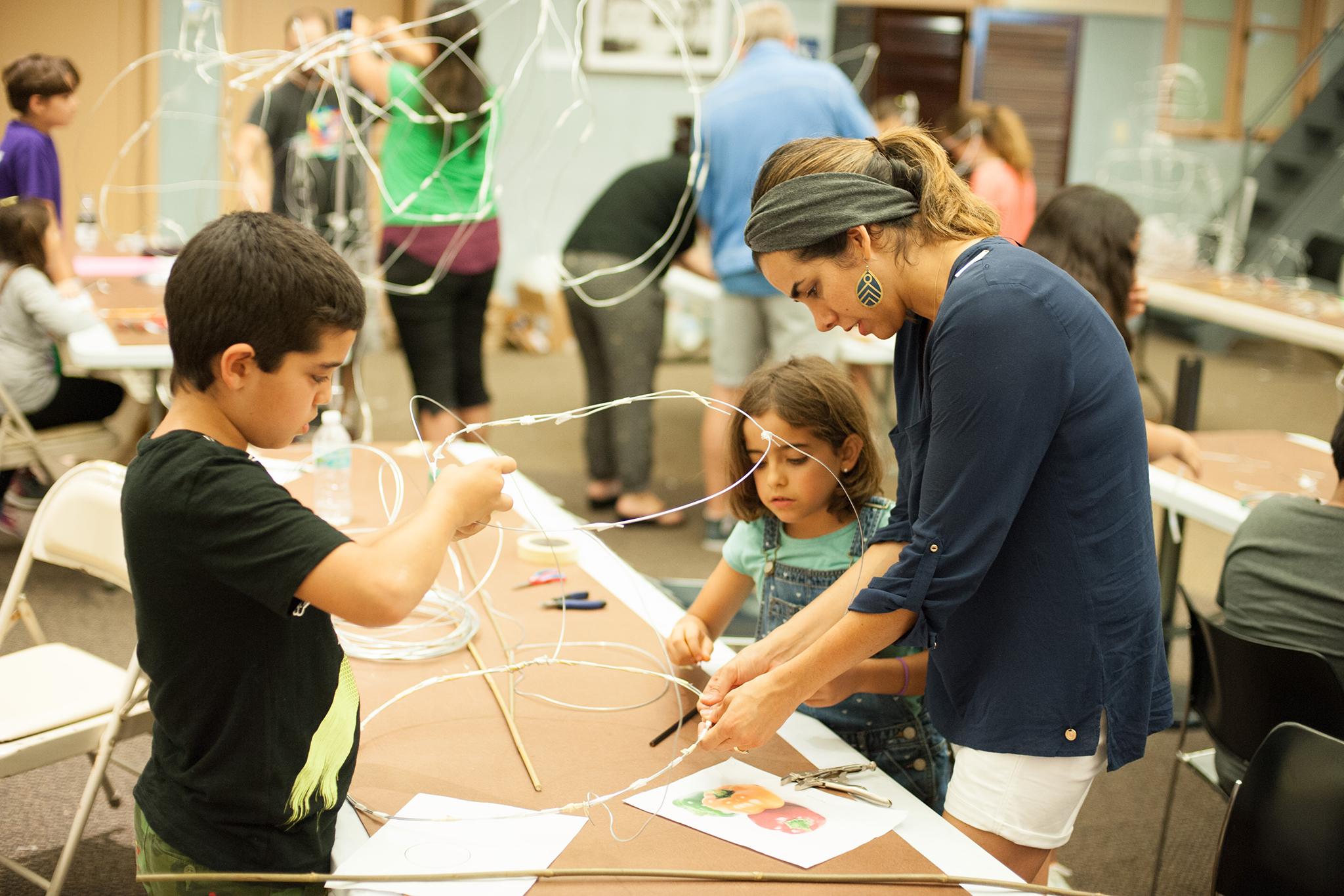 Community arts workshop Vizcaya