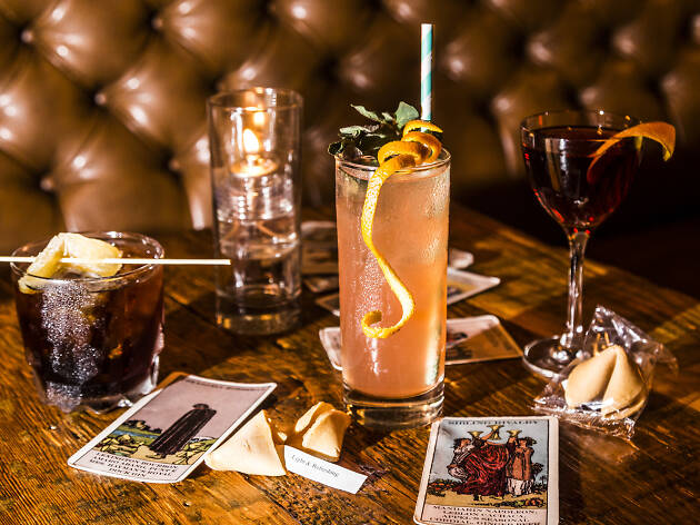 Most Creative Drink List: The Drifter