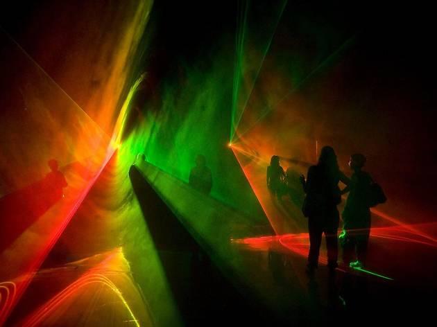 Sónar 2018: 'Chiasm' installation by Edwin van der Heide