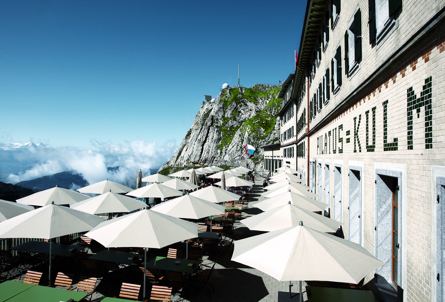 Pilatus Kulmhotel Werbung, Switzerland