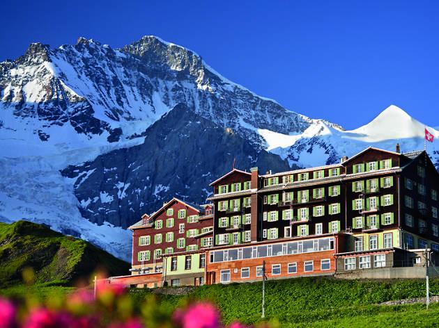 Hotel Bellevue des Alpes, Switzerland, for Swiss staycation summer hideaways campaign