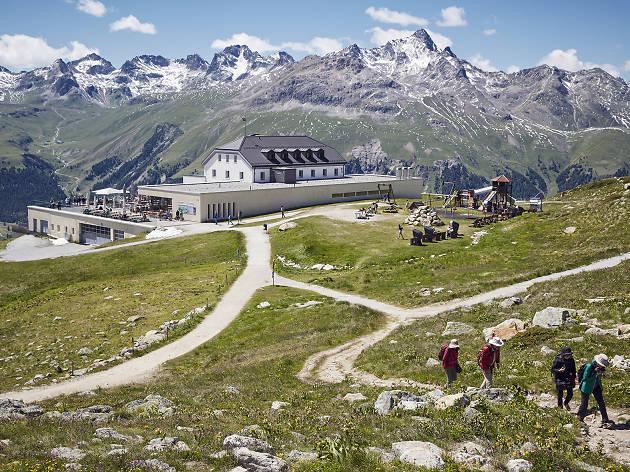 Romantik Hotel Muottas Muragl, for swiss staycation campaign