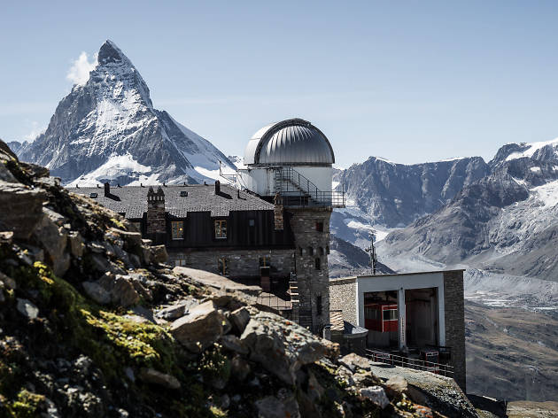 High-altitude hotels