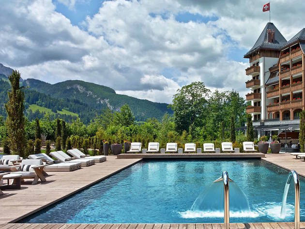 The Alpina Hotel Gstaad, for Swiss staycation campaign