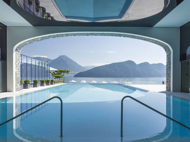 Park Hotel Vitznau, for Swiss staycation feature