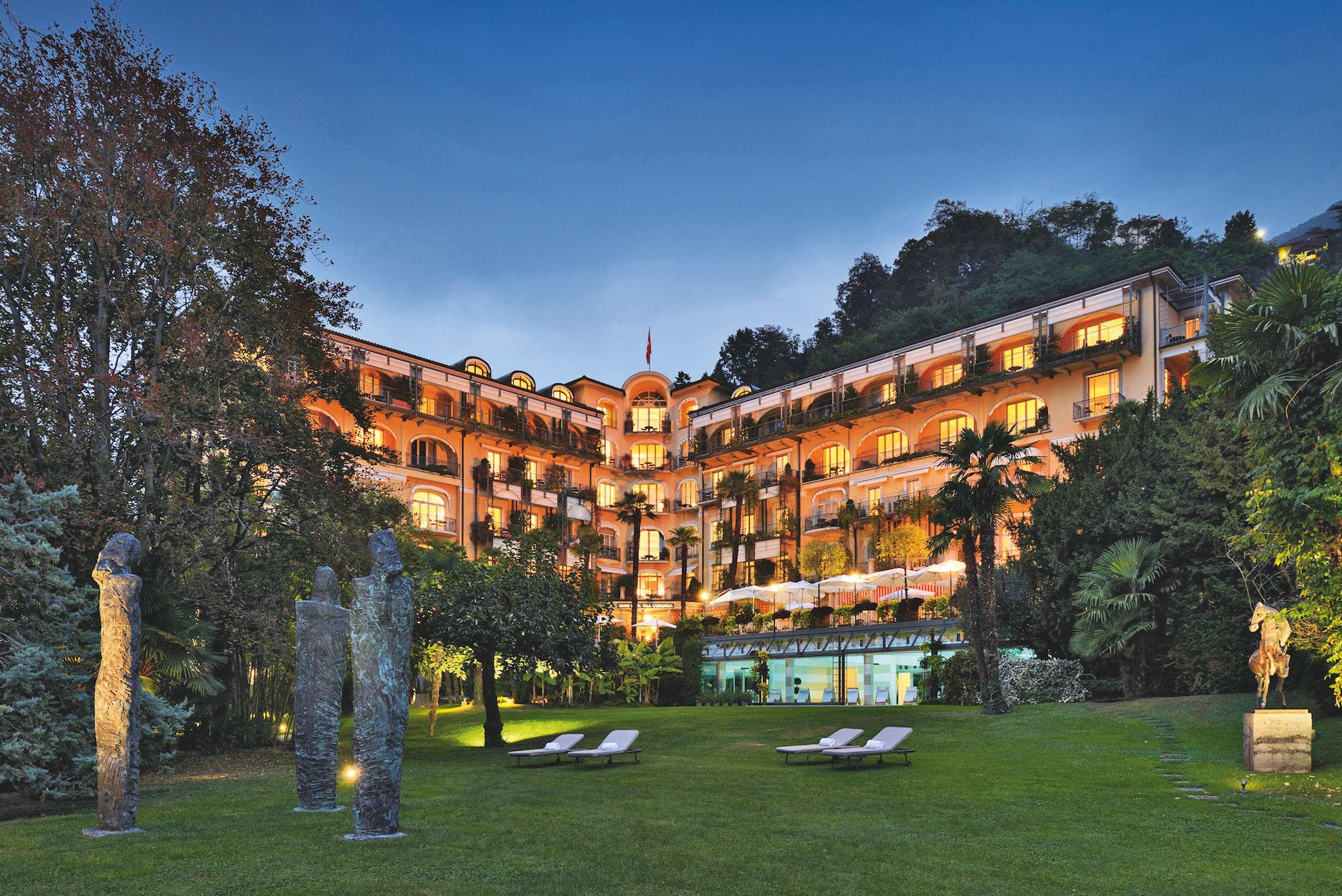 Lugano, Grand Hotel Villa Castagnola