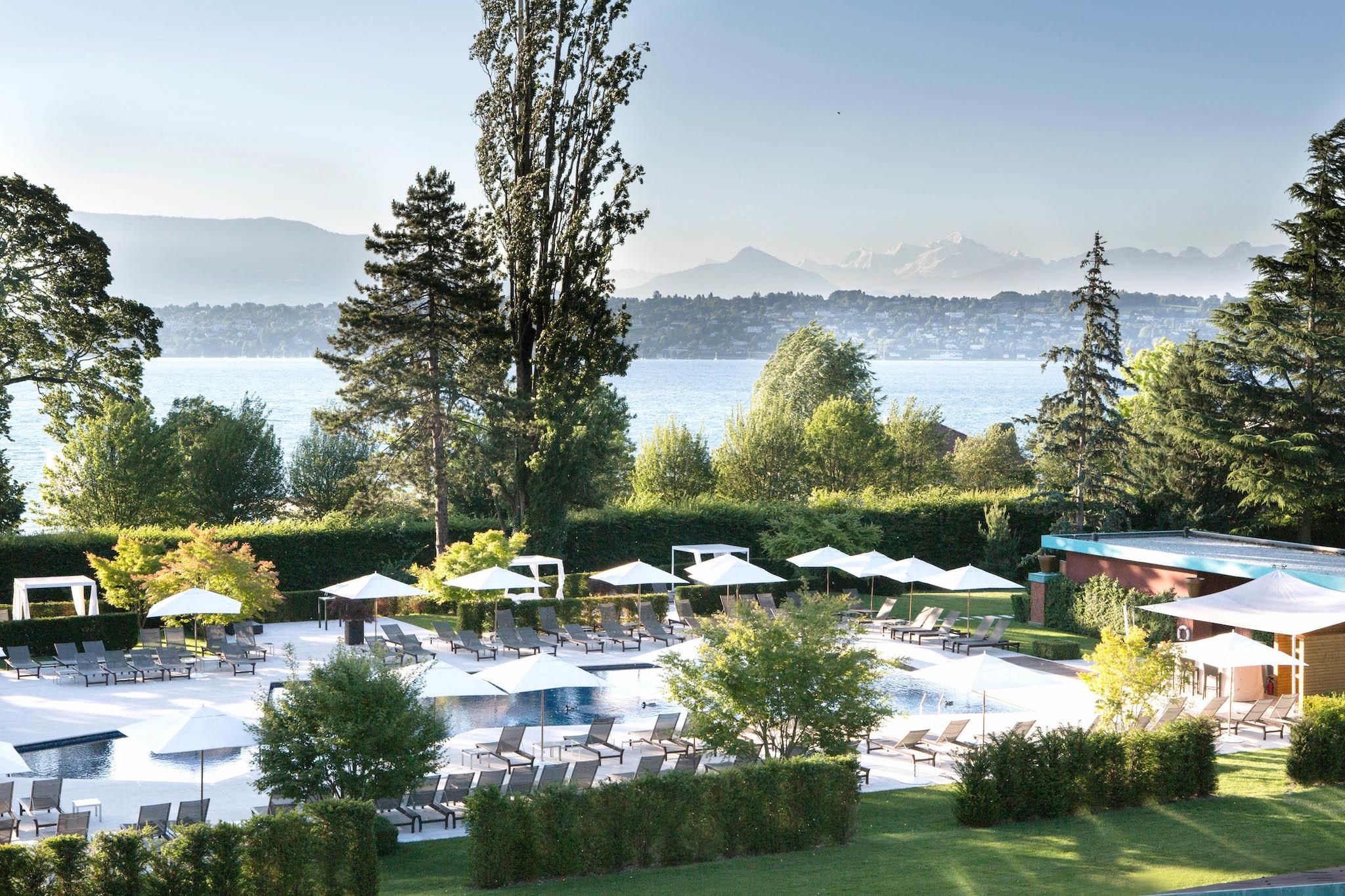 La Réserve Genève Hotel, Spa & Villa, for Swiss staycation feature