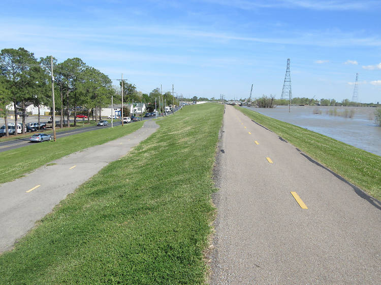 River Road Levee