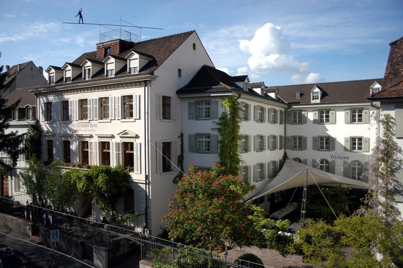 Der Teufelhof Basel, for Swiss staycation feature