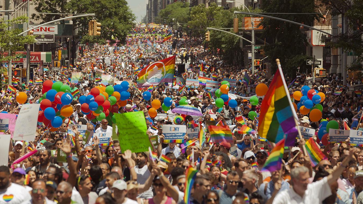 Gay Pride in NYC