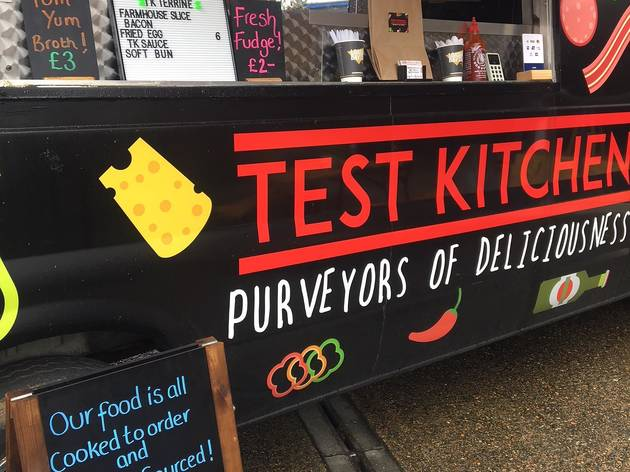 Test Kitchen food truck, Windsor