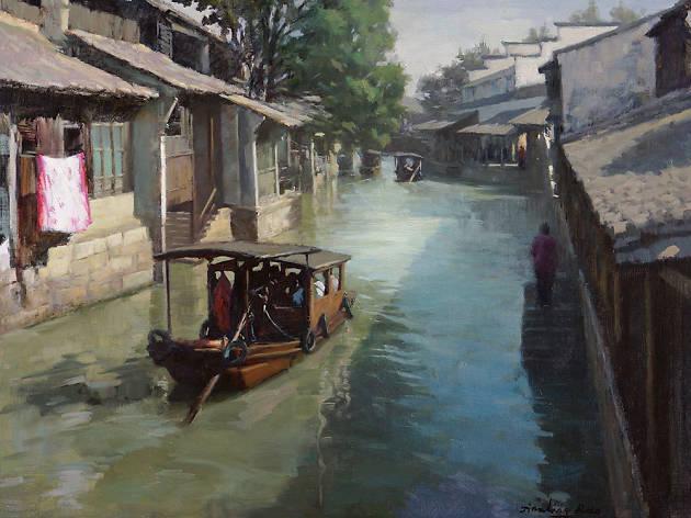 China en la pintura contemporánea española