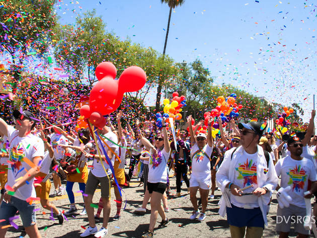 LA Pride 2018 attracted a record number of attendees