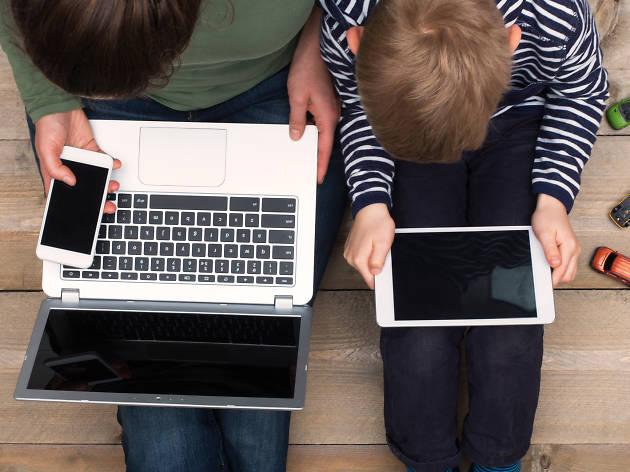Los niños y el internet