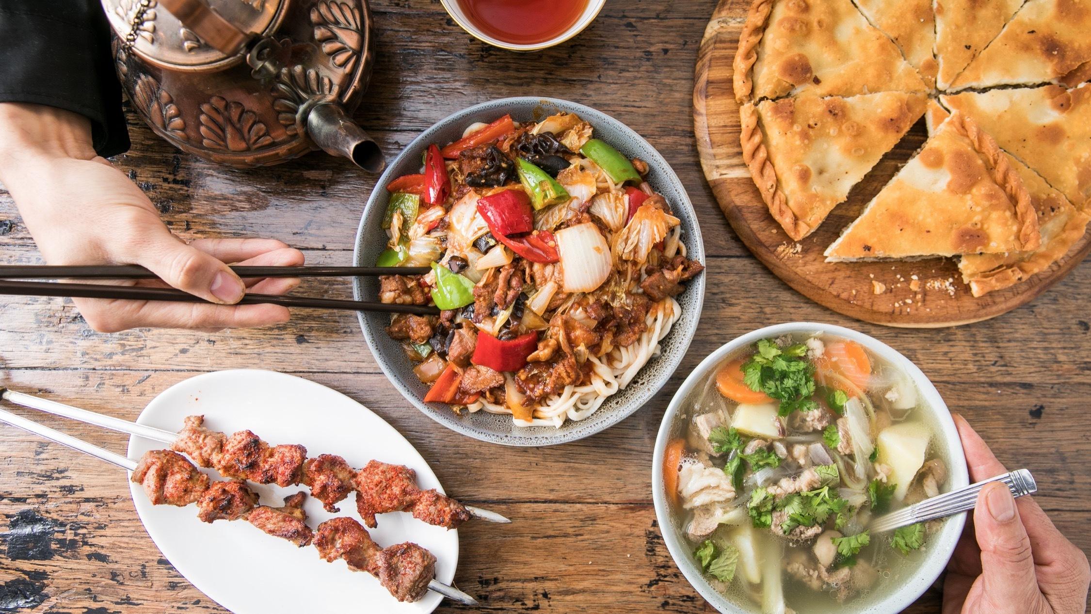 Food at Tarim Uyghur Auburn