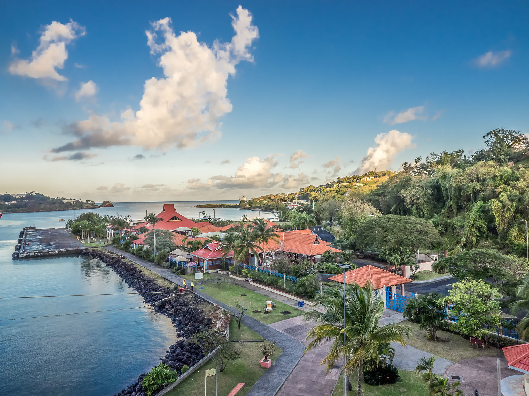 St Lucia, Aruba and Antigua are reopening