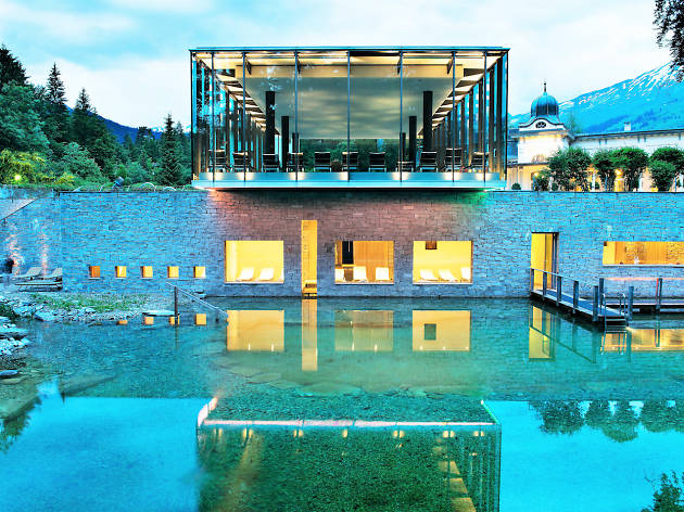 Waldhaus Flims Alpine Grand Hotel and Spa, for Swiss staycation campaign