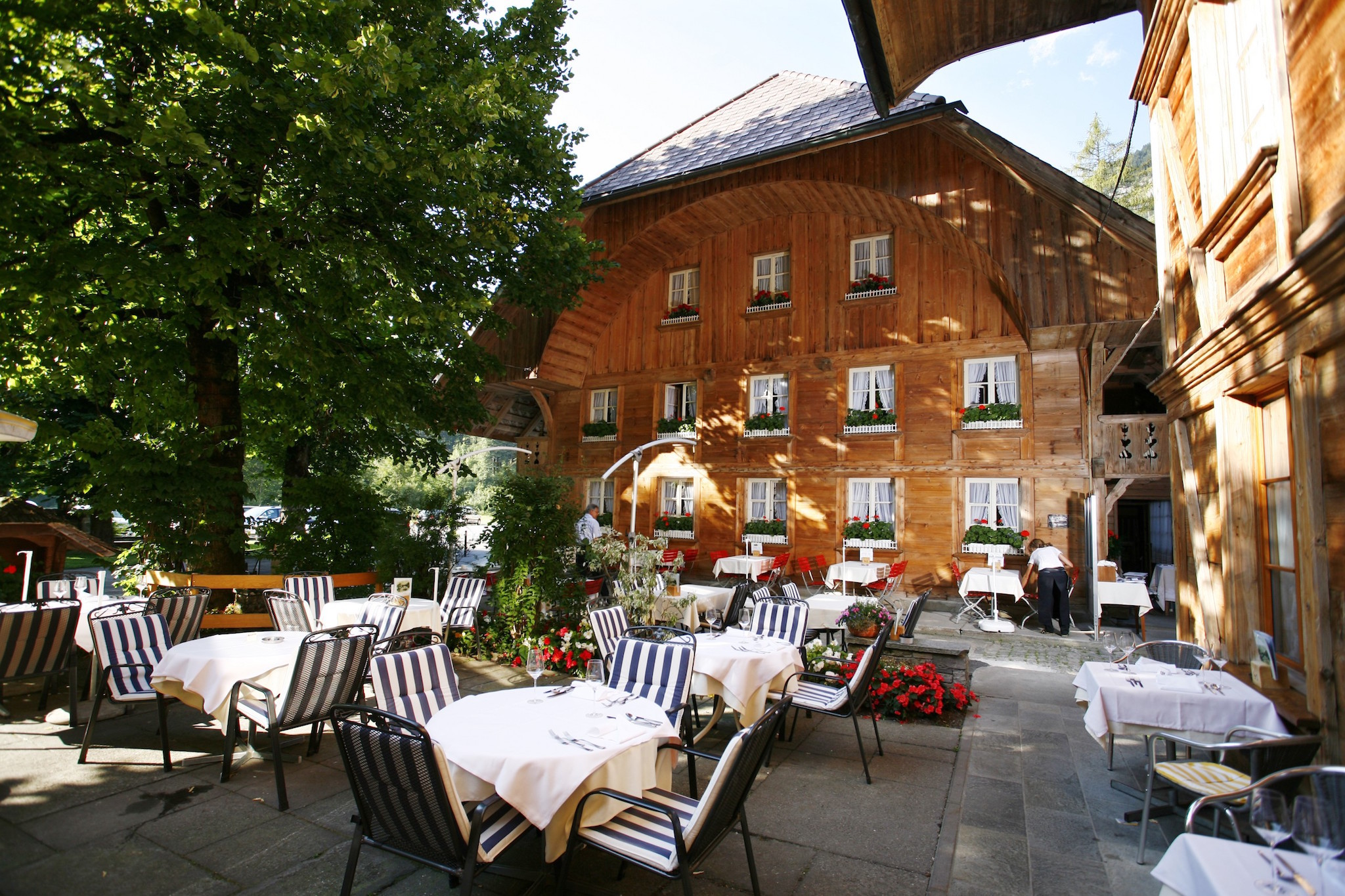 Hotel Landgasthof Kemmeriboden Bad, for Swiss staycation campaign