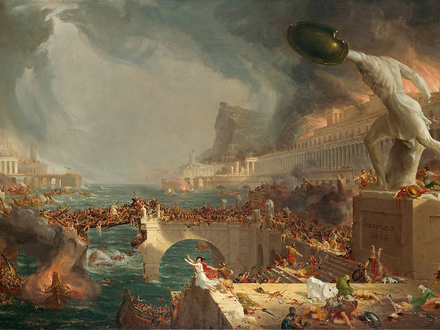 Thomas Cole 'The Course of Empire: Destruction', 1836