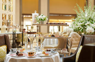 Afternoon tea at Corinthia Hotel