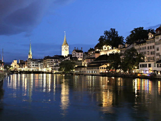 Zurich, for Swiss staycation campaign