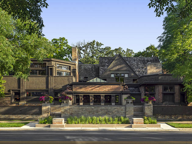 Take a digital tour of some of Frank Lloyd Wright's most iconic Chicagoland buildings