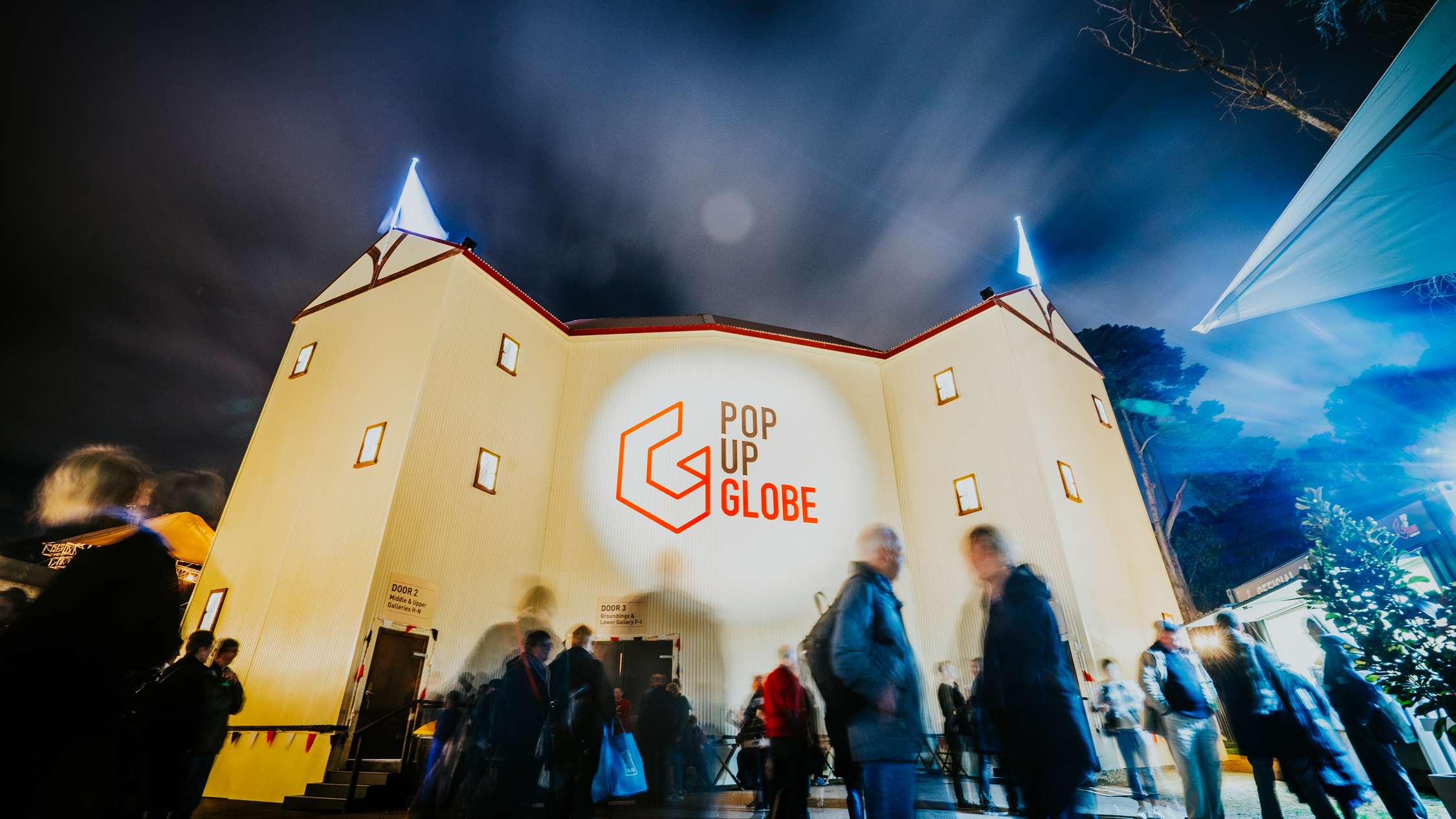 Pop-Up Globe 2018 photo supplied