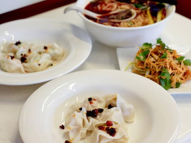 Food at Shanghai Dumpling