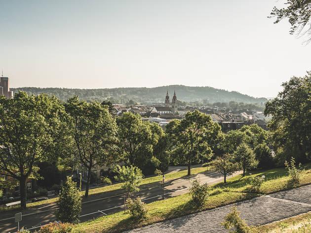 Winterthur, Blick vom Rosengarten
