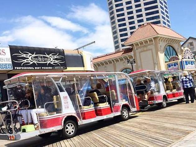 Boardwalk Tours Tram, Atlantic City, 2018