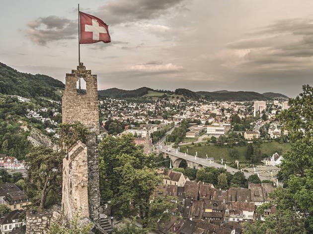Baden, Schlossruine Stein