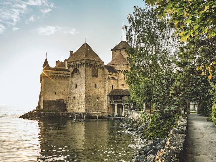 Visiter le château de Chillon